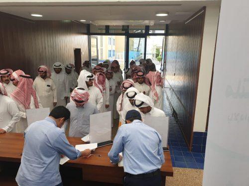 انطلاق ملتقى التوظيف الأول بالإدارة العامة للتدريب التقني والمهني بمنطقة نجران