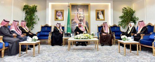 سمو أمير نجران يستعرض خطة دعم الاتصالات بالمنطقة