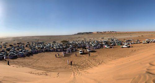 اختتام الفعالية الترفيهية للقيادة الآمنة في طعوس ورمال