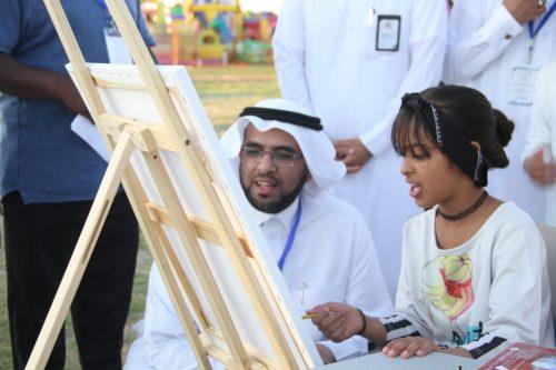 بأكثر من ٧٥٠٠ زائر اختتام مهرجان أندية الحي للرياضة والمرح بتعليم شرورة