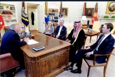سمو نائب وزير الدفاع يجري مباحثات رفيعة المستوى مع الرئيس ترامب ومسؤولين أمريكيين