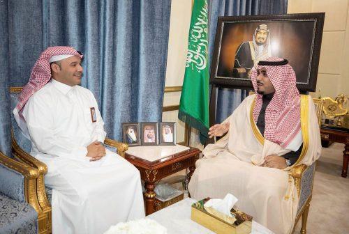 سمو نائب أمير نجران يلتقي مدير عام التعليم ونائب مدير عام الشؤون الصحية بالمنطقة