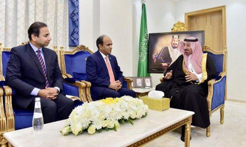 سمو أمير نجران يستقبل القنصل العام الباكستاني
