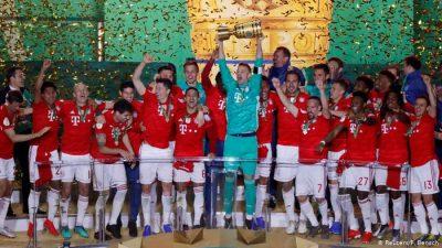 بايرن ميونيخ يحقق الثنائية بتتويجه بلقب كأس ألمانيا لكرة القدم