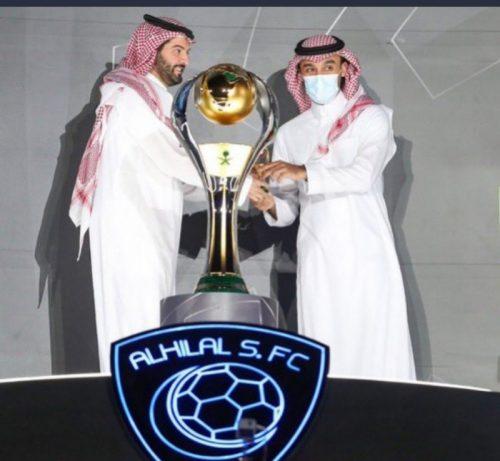 سمو وزير الرياضة يتوج الهلال بكأس دوري الأمير محمد بن سلمان للمحترفين