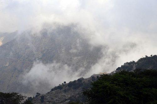 جبال الحشر .. إطلالة على جمال الطبيعة