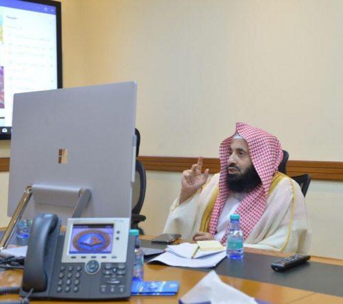 وحدة الأمن الفكري بالرئاسة العامة تنفذ لقاءً توجيهياً لمنسوبي فرع منطقة نجران